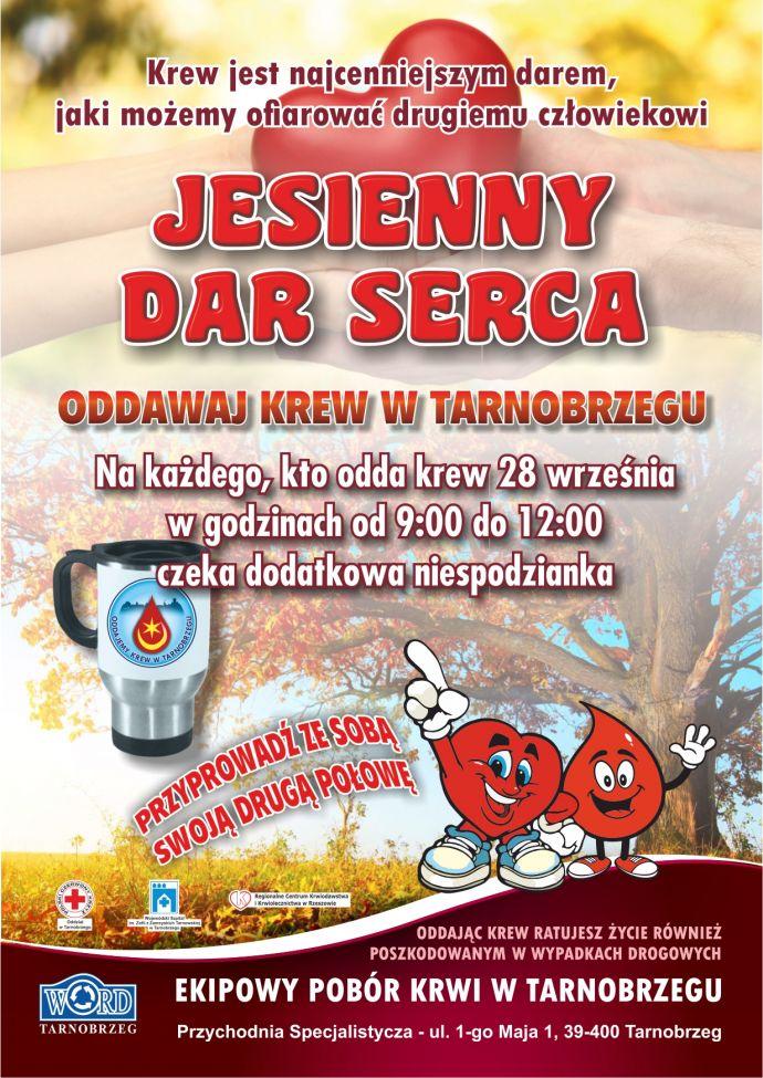 Krwiodawstwo - Jesienny Dar Serca - do WEB